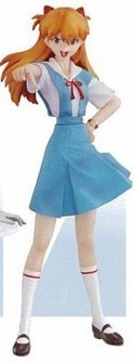 Neon Genesis Evangelion Portraits IX 4'' Trading Figure Asuka School Uniform