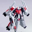 Gundam DX 8 MSZ-006C1[Bst]ZplusC1(BST) Red 1/400 Scale Trading Figure