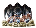 One Piece Log Box Marineford Vol. 1 Kuma Trading Figure