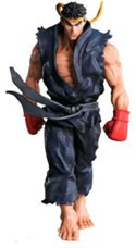 Street Fighter 4'' Trading Figure Ryu Black