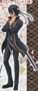 Gintama 4'' Takasugi Past Styling Daaa 4 Trading Figure
