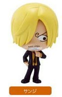 One Piece 3'' Deformaster Series 4 Trading Figure New World Sanji