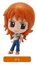 One Piece 3'' Deformaster Series 4 Trading Figure New World Nami