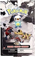 Pokemon 2'' 3 Figure Set Oshawat