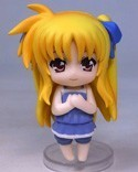 Magical Girl Lyrical Nanoha 3'' Nendoroid Petit Fate Special Figure