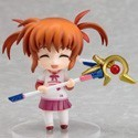 Magical Girl Lyrical Nanoha 3'' Nendoroid Petit Nanoha Eyes Closed Figure