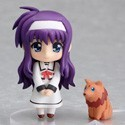Magical Girl Lyrical Nanoha 3'' Nendoroid Petit Suzuka Figure