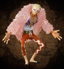 One Piece 7 Warlords Trading Figure 4'' Do Flamingo