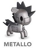 Tokidoki 3'' Unicorno Trading Figure Metallo
