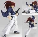 Rurouni Kenshin 6'' Battousai Revoltech Action Figure