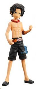 One Piece Half Age New World Trading Figure Ace