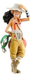 One Piece Half Age New World Trading Figure Ussop