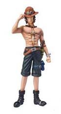 One Piece 4'' White Beard Pirates Ace Chozoukei Dameshii Trading Figure