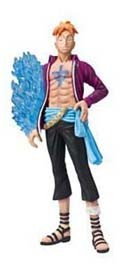 One Piece 4'' White Beard Pirates Marco Chozoukei Dameshii Trading Figure
