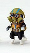 Monster Hunter Otomo Airu Capcom Figure Builder Trading Figure Melynx Gas Mask