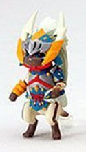 Monster Hunter Otomo Airu Capcom Figure Builder Trading Figure Lynian Blue, White Yellow Armor