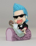 One Piece 3'' Franky Tea Party Trading Figure