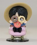 One Piece 3'' Luffy Tea Party Trading Figure