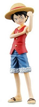 One Piece 4'' Luffy Half Age Figure