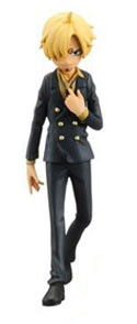 One Piece 4'' Sanji Half Age Vol. 3 Trading Figure