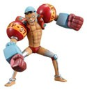One Piece 4'' Franky Half Age Vol. 3 Trading Figure