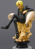One Piece 4'' Sanji Chess Piece Vol. 1 Trading Figure