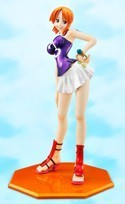 One Piece Nami Limited Color Variation Portraits of Pirates Figure