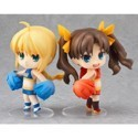Fate Stay Night Saber and Rin Cheerful Exclusive Nendoroid Set