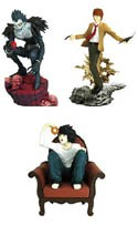 Death Note 3'' Mini Trading Figure 3-Pack L, Light, Ryuk