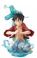 One Piece Vignette Luffy Trading Figure