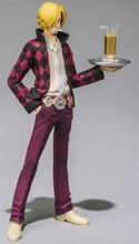 One Piece Film Z 3'' Sanji Chozokeii Damashii Trading Figure
