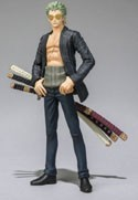 One Piece Film Z 3'' Zoro Chozokeii Damashii Trading Figure
