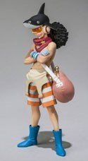 One Piece Film Z 3'' Ussop Chozokeii Damashii Trading Figure