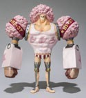 One Piece Film Z 6'' Franky Chozokeii Damashii Trading Figure