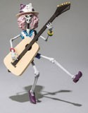 One Piece Film Z 6'' Brook Chozokeii Damashii Trading Figure