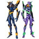 Neon Genesis Evangelion Revoltech  Eva-01 and Mark.06 Figure Set