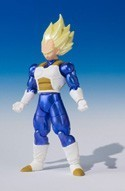 Dragonball Z 3'' Super Saiyan Vegeta Shodo Action Figure