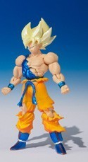 Dragonball Z 3'' Super Saiyan Vegita Shodo Action Figure