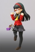 Persona 4 4'' Yukiko w/ Glasses Half Age Trading Figure