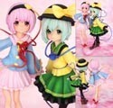 Touhou Project Satori and Koishi Komeiji Love Heart Ver. 1/8 Scale Griffon Figure