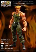 Street Fighter 9'' Guile Play Arts Kai Figure