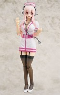Super Sonico 1/8 Scale Nurse Ver. Gutto Kuru Action Figure