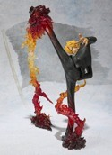 One Piece 6'' Sanji Figuarts Zero Battle Ver. 2 Figure