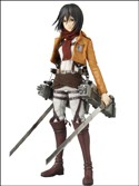 Attack on Titan Mikasa Real Action Heroes Figure