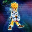 Digimon 1/9 Scale Gabumon and Yamato Ishida G.E.M Figure