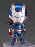 Marvel Iron Man Iron Patriot Nendoroid Figure