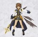 Magical Lyrical Girl Nanoha 6'' Yagami Figma Figure