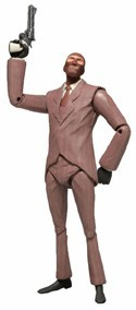 Team Fortress 2 Red Spy Neca Action Figure