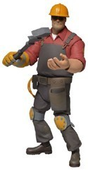 Team Fortress 2 Red Engineer Neca Action Figure