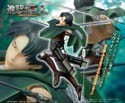 Attack on Titan 8'' Levi Sega Prize Figure